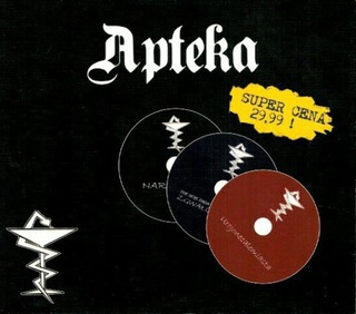 Apteka box 3 CD доставка товаров из Польши и Allegro на русском