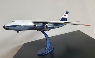 Антонов ан-124 в масштабе 1:144 . Уникум Аэрофлот 1998 доставка товаров из Польши и Allegro на русском