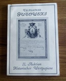 Gutowski, Каталог 11 Торгах 1992 года. доставка товаров из Польши и Allegro на русском