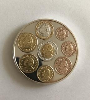 Watykan Jan Paweł II. Medal. Srebro 999. Numizmat доставка товаров из Польши и Allegro на русском