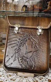 Мужская набедренная сумка, пояс, натуральная кожа  доставка товаров из Польши и Allegro на русском