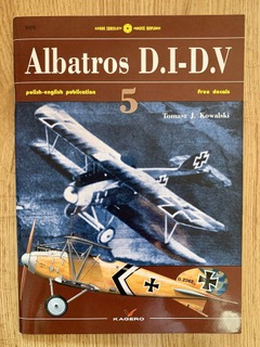 Albatros D.1-D.V + kalkomania Kagero доставка товаров из Польши и Allegro на русском