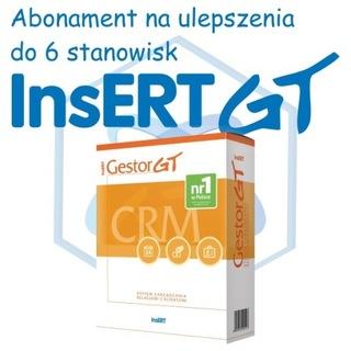 Abonament na ulepszenia InsERT Gestor GT - 6 st. доставка товаров из Польши и Allegro на русском