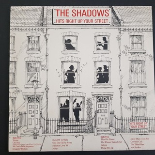 THE SHADOWS-Hits Right Up Your 1st '82 AU Mint LP  доставка товаров из Польши и Allegro на русском