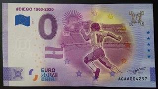 0 евро Диего Марадона - Юбилей - Аргентина доставка товаров из Польши и Allegro на русском