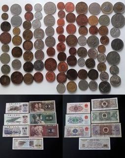 Zestaw monet i banknotów zagranicznych 95szt. доставка товаров из Польши и Allegro на русском