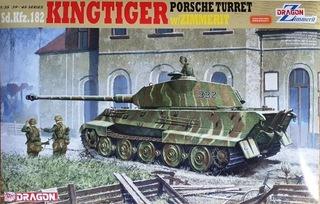 DRAGON 6302 Sd.Kfz182 Kingtiger Porsche w/Zimmerit доставка товаров из Польши и Allegro на русском
