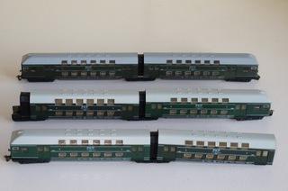 Двухэтажные вагоны ПКП bttb  доставка товаров из Польши и Allegro на русском