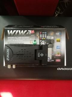 NOWY TUNER DEKODER WIWA HD 50 DVB-T PRZYSTAWKA TV доставка товаров из Польши и Allegro на русском