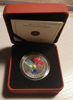 25 cent koliberek rubinogłowy Kanada 2007 доставка товаров из Польши и Allegro на русском