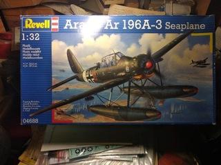SAMOLOT ARADO AR 196 A-3 REVELL 1 / 32 bez kalek доставка товаров из Польши и Allegro на русском