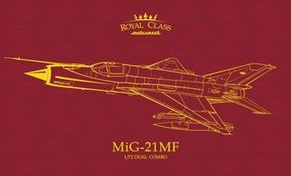 MiG-21MF Эдуард Royal Class, 1:72 доставка товаров из Польши и Allegro на русском