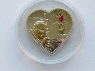 Liberia -10 $ 2005,  Jan Paweł II доставка товаров из Польши и Allegro на русском