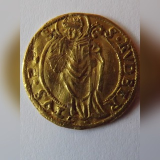 Дукат 1559 Зальцбург Михаэль фон Кюнбург, оригинал  доставка товаров из Польши и Allegro на русском