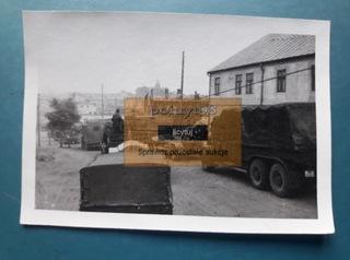PRZEDBÓRZ - ВЪЕЗД ВОЙСКА В ГОРОД - IX 1939 доставка товаров из Польши и Allegro на русском