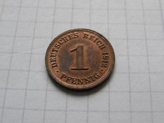 1 ПФЕННИГ 1893 F  доставка товаров из Польши и Allegro на русском