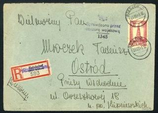 1945 stempel prowizoryczny Rzeszów Ostróda доставка товаров из Польши и Allegro на русском