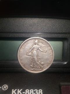 Выпуск монеты 5 франков 1960  доставка товаров из Польши и Allegro на русском