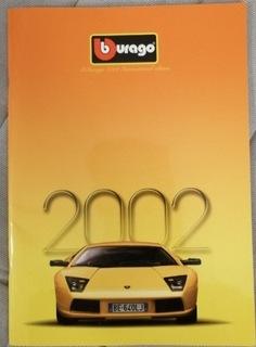 Katalog bburago rok 2002 unikat IDEALNY!  доставка товаров из Польши и Allegro на русском