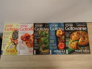 Moje Gotowanie komplet 11 gazet доставка товаров из Польши и Allegro на русском