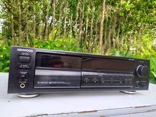 Kenwood KX-7030 магнитофон 3 head черный + кассеты доставка товаров из Польши и Allegro на русском
