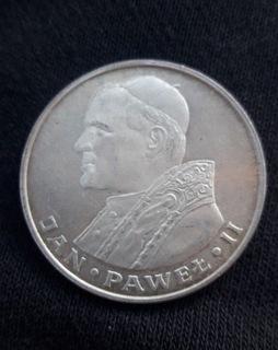 1000 zł Jan Paweł II 1982 r. SREBRO доставка товаров из Польши и Allegro на русском