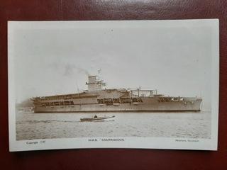 HMS ARK COURAGEOUS brytyjski lotniskowiec   доставка товаров из Польши и Allegro на русском
