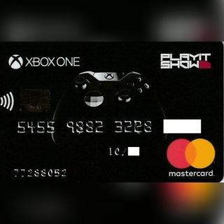 Банковская карта Prepaid Mastercard для использования Xbox доставка товаров из Польши и Allegro на русском