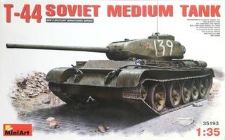 Модель T-44 - MiniArt доставка товаров из Польши и Allegro на русском