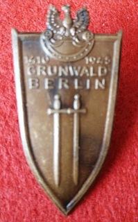 Знак Грюнвальд-Берлин 1410-1945 доставка товаров из Польши и Allegro на русском