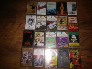 Punk kasety zestaw доставка товаров из Польши и Allegro на русском