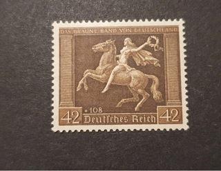Znaczek niemiecki deutches reich ** доставка товаров из Польши и Allegro на русском