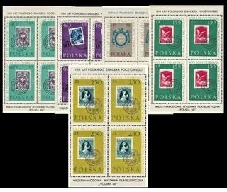 100-летие польского почтовую марку. 5 блоков доставка товаров из Польши и Allegro на русском