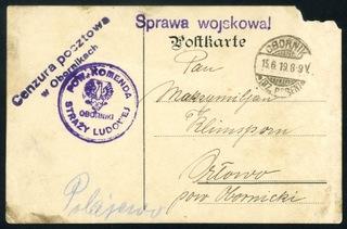 1919 Oborniki Великопольское восстание  доставка товаров из Польши и Allegro на русском