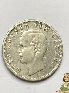 Две марки 1907 серебро  доставка товаров из Польши и Allegro на русском