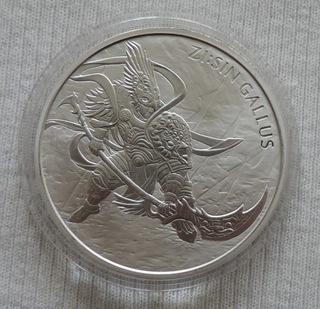 Южная Zi Sin Gallus 2017 унция 1 oz серебро Ag 999 доставка товаров из Польши и Allegro на русском