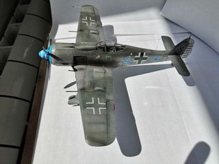 Готовая модель самолета Fw-190 A-8 в масштабе 1/48 доставка товаров из Польши и Allegro на русском