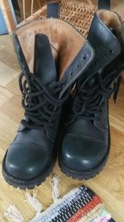 Темно-зеленые армейские ботинки 10 отверстий доставка товаров из Польши и Allegro на русском