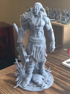 Figurka Giant olbrzym do AoS Warhammer wydruk доставка товаров из Польши и Allegro на русском