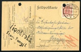 1919 Nowy Tomyśl Wielkopolska Цензура восстания  доставка товаров из Польши и Allegro на русском