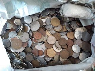 Набор микс монет 4,3 кг доставка товаров из Польши и Allegro на русском