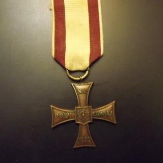 Крест Доблести 1920, Польские вооруженные силы на Западе, оригинал  доставка товаров из Польши и Allegro на русском