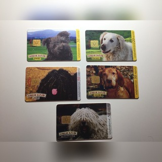 Телефонные карты чип. Венгрия - Собаки доставка товаров из Польши и Allegro на русском