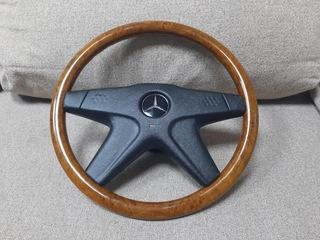 Drewniana kierownica Mercedes W123 W124 W126 W201 доставка товаров из Польши и Allegro на русском
