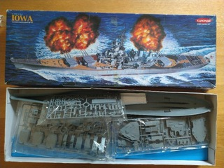 Гратка | Комплект модели USS Iowa 1: 400 доставка товаров из Польши и Allegro на русском