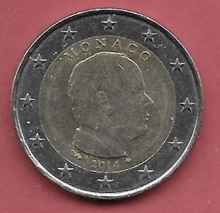 МОНАКО - МОНАКО - 2 евро - 2014  доставка товаров из Польши и Allegro на русском