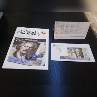 Банкноты 19 злотых 100-ЛЕТИЕ PWPW радар UNC 0019991 доставка товаров из Польши и Allegro на русском