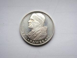 Moneta 1000 zł Jan Paweł II papież 1982 r. srebrna доставка товаров из Польши и Allegro на русском