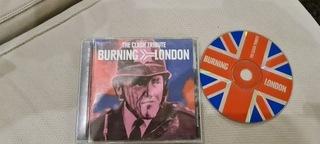 THE CLASH TRIBUTE: BURNING LONDON CD Unikat доставка товаров из Польши и Allegro на русском