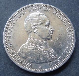 Германия - 5 марок 1913 г. A (2)  доставка товаров из Польши и Allegro на русском